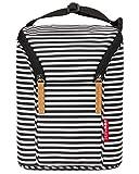 Skip Hop Baby Bottle Bag, Grab & Go, Black/White Stripe