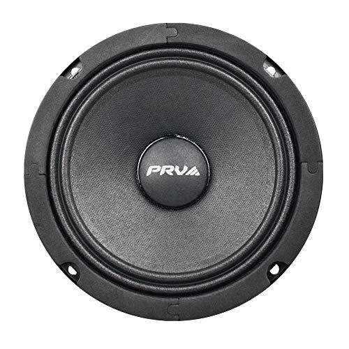 PRV AUDIO 6MR200A 6  Midrange Speakers - 8 Ohms Mid Range Speaker 6 Inch 100 Watts RMS Power, 200 Watts Continuous Power Alto Series Loudspeaker(Single)