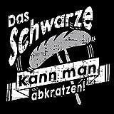 Shirtoo Grillschürze Das Schwarze kann man abkratzen – Lustiges Geschenk für echte Männer und Grill-Fans - 2