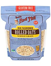 Bobs Red Mill Gluten Free Rolled Oats,907gms- (Pack of 1)