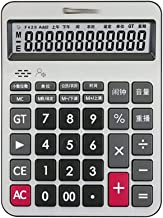 $34 » Desktop Calculator 12 Digit with Large LCD Display Desk Business Calculator 2xAA Batteries Perfect for Office Home School...