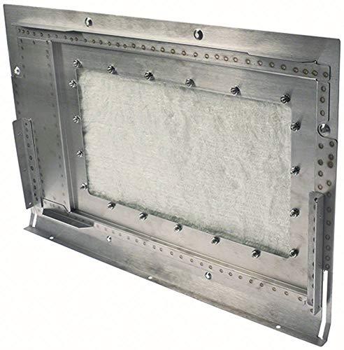 ACP - Kit de reparación para microondas MXP5223TL, MXP5221, MXP5223, MXP5221BO para puerta interior (ancho 350 mm, altura 60 mm, longitud 531 mm)