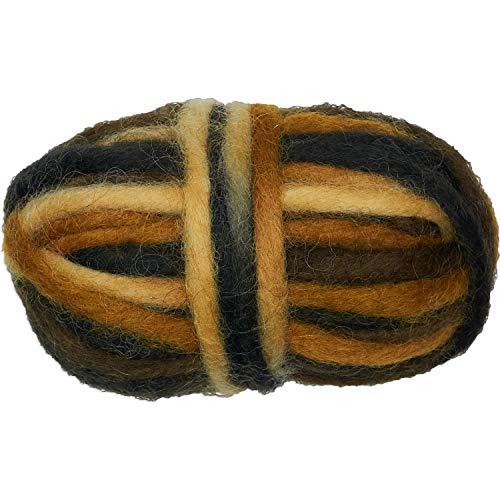 Afmetingen bruine kleurrijke potlood Roving voor weaving-1,05oz (30 g),