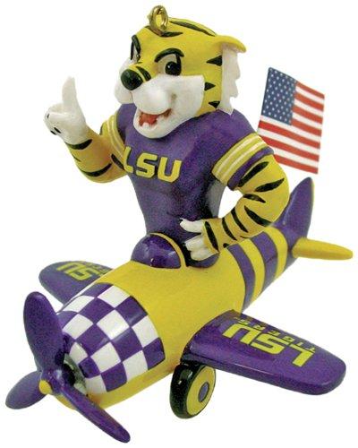 Champion NCAA LSU Fightin Tigers Mascot Airplane Ornament