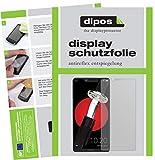 dipos I 2X Schutzfolie matt kompatibel mit Sharp Aquos D10 Folie Bildschirmschutzfolie