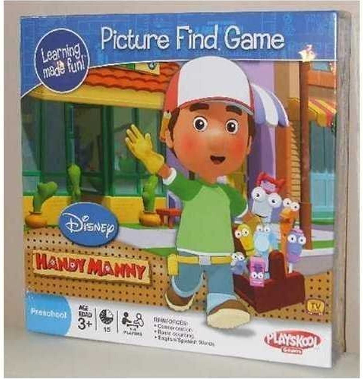 Handy Manny Picture Find Game