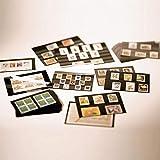 Prophila Collection 100 Leuchtturm A5-Einsteckkarten Steckkarten mit Schutzfolie NEU -