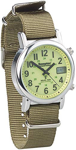 Semptec Urban Survival Technology Survival Uhr: Outdoor-Armbanduhr mit Funk und Solarbetrieb (Solaruhr)