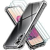 ivoler Coque pour Redmi Note 10 4G / Redmi Note 10S + 3X Film Protection écran en Verre trempé,...
