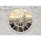 murando Fotomurales Ciudad 400x280 cm XXL Papel pintado tejido no tejido Decoración de Pared decorativos Murales moderna Diseno Fotográfico New York ladrillo Nueva York a d-a-0008-a-b