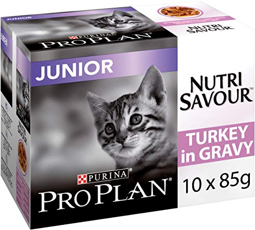 PRO PLAN Chat Nutrisavour Junior - A la Dinde - Pochons...