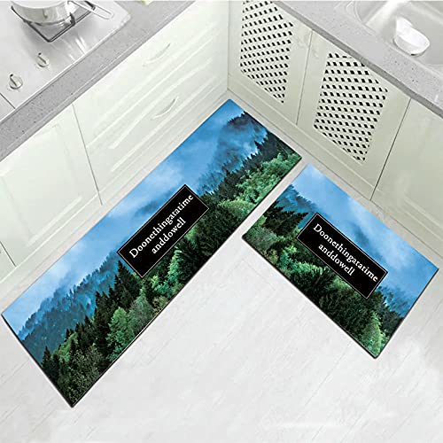WESG Tappetini per tappeti Antiscivolo assorbenti da Cucina e da Bagno, tappetini per Porte d'ingresso del corridoio del Soggiorno della Camera da Letto di casa No.6 50X160 cm