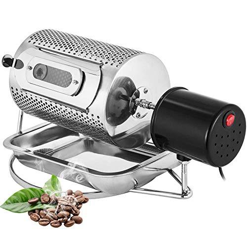 TTFGG Kaffeeröster Kaffeebohne-Röster-Maschine,Haushaltsmultifunktionale Edelstahl-Elektrische Kaffee-Röster-Backmaschine,Geeignet Für Erdnuss/Mutter/Bohnenbraten