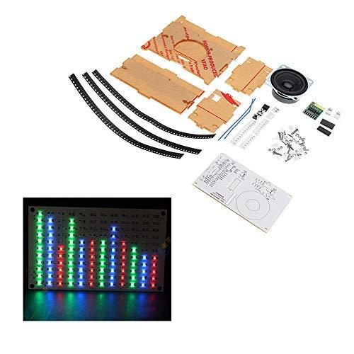 KASILU Dlb0109 DIY Bluetooth Módulo Caja de Sonido Kit Música Spectrum LED Pantalla indicador de Grado Débilo Alto Rendimiento