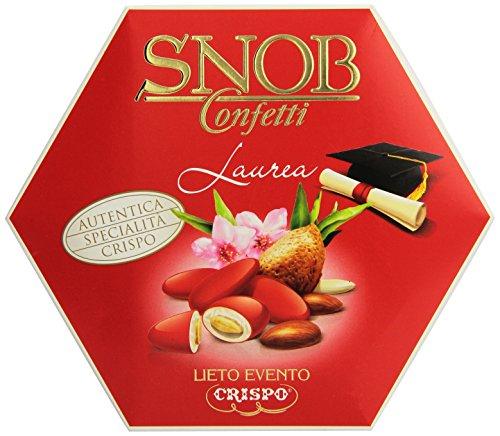 Crispo Confetti Snob Lieto Evento - Colore Rosso - 500 g