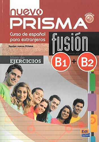 Nuevo Prisma fusion B1+B2 cwiczenia + CD [Lingua spagnola]