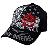 Sons of Anarchy Reaper - Sombrero de madera de coya, color negro