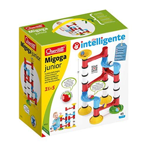 Beluga Spielwaren 6512 Migoga Junior Premium Kugelbahn Quercetti 6512-Migoga, bunt