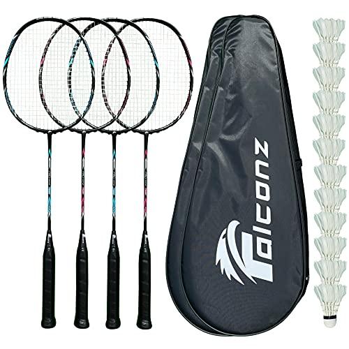 Falconz Badminton Set - 4 Graphi...