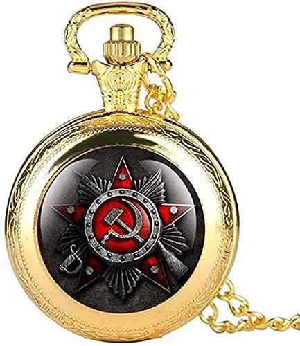 NC134 Collares Mujer Hombre Color Negro Cara Abierta Reloj de Bolsillo de Cuarzo Relojes para Hombre Colgante con Colgante Collar Números Romanos Dial Reloj Masculino Regalos