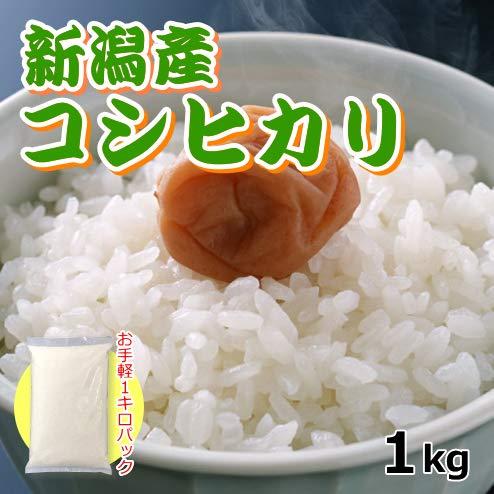 コシヒカリ 1キロ 新米 新潟米 1kg 令和元年産 お米 新潟産 産地直送 米 コメ