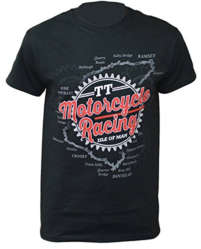 T-Shirt Motorcycle Racing Isle of Man Tourist Trophy