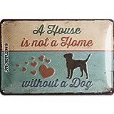 Nostalgic-Art 22269 PfotenSchild - A House is not a Home,