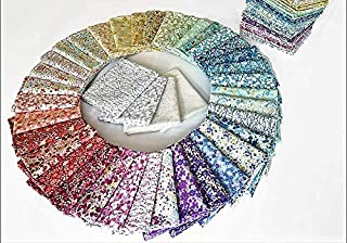 in The Beginning 40 Fat Quarters Garden Delight II Cotton Fabric 40 Different Designs