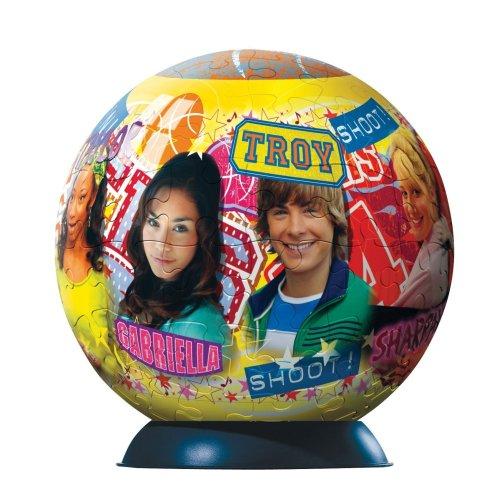 Ravensburger 11302 - Puzzle sferico, Motivo: High School Musical, 96 Pezzi