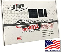 Vibro-Black 200 mil is the Thickest and BEST Firewall Sound Deadening Mat-Audio Noise Insulation Car Sound Dampening-Sound Insulator- Automotive Sound Deadener-BUY Made in AMERICA- Not Russia or China