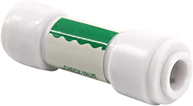 VAILANG Rosca Macho V/álvula de retenci/ón de compresor de Aire de Metal de 3 v/ías Tono Dorado