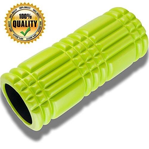 Premium Schiuma Esercizio rullo per massaggio muscolo con Matrix tecnologia 13 x 5,5 pollici di livello professionale ad alta densità Esercizio Foam Roller