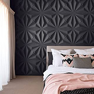 3D Decorative Panels Wall Forms 32.9 ft2/(12 Panels of 50×50 cm/19.6×19.6 in) (Diamond)