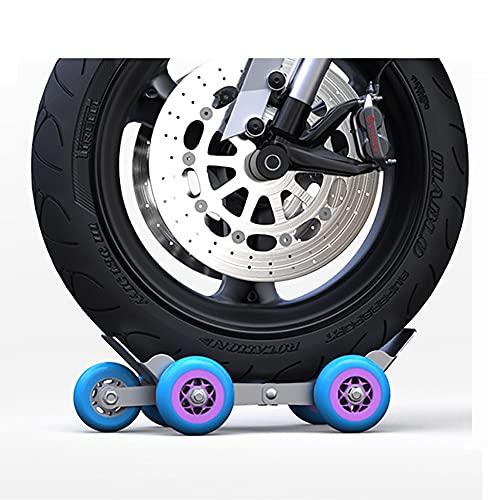 GYQCP Remolque Motocicleta Remolque Portátil De Emergencia para Pinchazos Neumáticos Bicicleta Refuerzo De Motocicleta Carro Compacto para Asistencia En Carretera De Emergencia