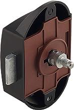 Gedotec Opschroefslot push-lock kast-meubelslot eenzijdig bedienbaar voor deuren | doornmaat 25 mm | drukslot kunststof zw...