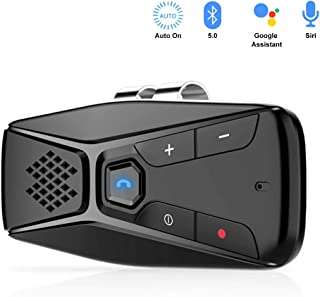 NETVIP Manos Libres para Coche Bluetooth 5.0 Auto Power On