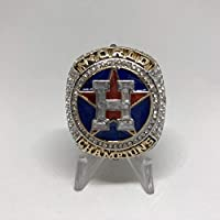 2017 Jose Altuve #27 Houston Astros HIGH QUALITY PREMIUM Replica 2017 World Series Championship Ring Size 9-Silver Color US SHIPPING