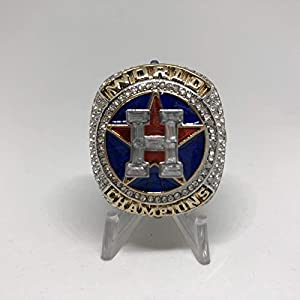 2017 Jose Altuve #27 Houston Astros HIGH QUALITY PREMIUM Replica 2017 World Series Championship Ring Size 12-Silver Color US SHIPPING