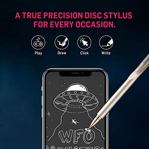Adonit Jot Pro 4 Eingabestift für alle Tablet, Smartphone und Notebook Touchscreens wie Apple iPad, Samsung Galaxy Tab, iPhone, Microsoft Surface und viele weitere - gold