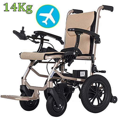 BOC Stuhl Elektrorollstuhl Leichter Rollstuhl, Doppelfunktions-Hochleistungs-Kompakt-Elektroantrieb mit offener/schneller Faltung und elektrischem oder manuellem Rollstuhl