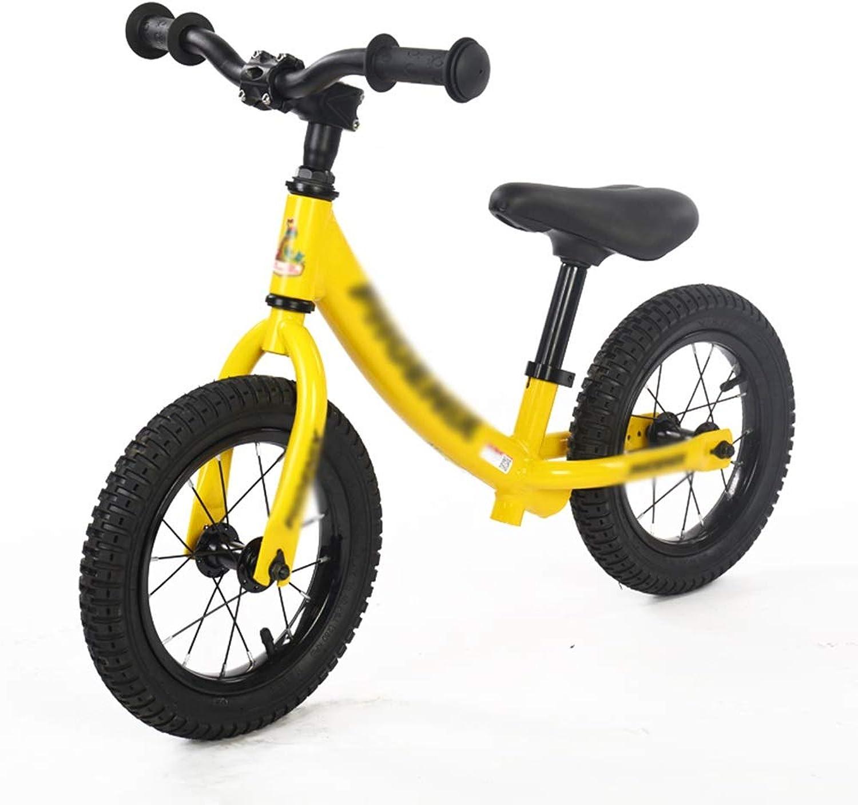 Bicicleta Senior Balance para Niños   No Pedales Pedales Pedales Entrenamiento Bicicleta Edades 2 a 7 años (Color   Amarillo)  alta calidad y envío rápido