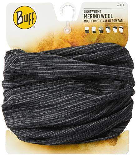 BUFF Unisex Lightweight Merino Wool Printed, Castlerock Grey Multi, OSFM
