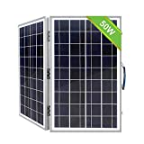 ECO-WORTHY 50 Watts 12 Volts Portable Foldable Solar Panel Kit with Charge Controller