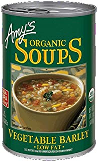 Amy's Vegetable Barley Soup 14.1 OZ(Pack of 2)