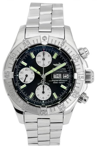 Breitling Men's A1334011/B683 Superocean Chronograph Watch