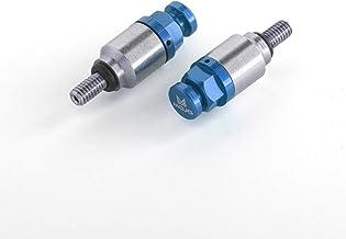 MOJO-KTM-FBBLK MojoMotoSport- Fork Bleeders for KTM CNC Billet Anodized Aluminum Black