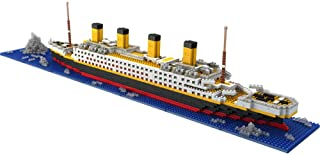 Joyhub Titanic Model Micro Blocks Building Set, 3D Puzzle DIY Educational Toy, Gift for Adults and Children(1860 pcs) (Titanic)