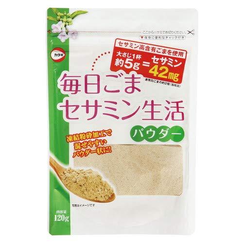 毎日ごまセサミン生活パウダー 120g 【カタギ食品】