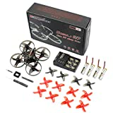 HAPPYMODEL Mobula7 Quadcopter Indoor Four-Axis 2S 75mm Brushless Whoop Racer Drone BNF---V2 Upgraded Frame (Receiver for Flysky Standard Version)
