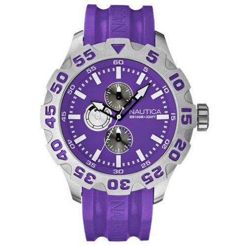 Nautica Reloj A15581G Morado